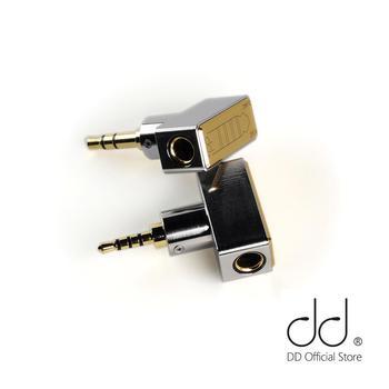 DD DJ44B DJ44C أنثى 4.4 محول متوازن تنطبق على 4.4 مللي متر التوازن سماعة كابل ل Astell & Kern ، FiiO ، الخ