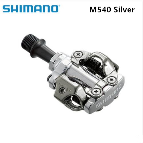 shimano PD M540 Cycling Pedals Self Locking SPD Pedals MTB Bicycle Components Mountain Bike Parts PD22