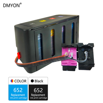 DMYON 652 Continuous Ink Supply System Replacement for HP Ciss Deskjet 3635 3636 3638 3838 3835 4535 4536 4538 4675 Printer