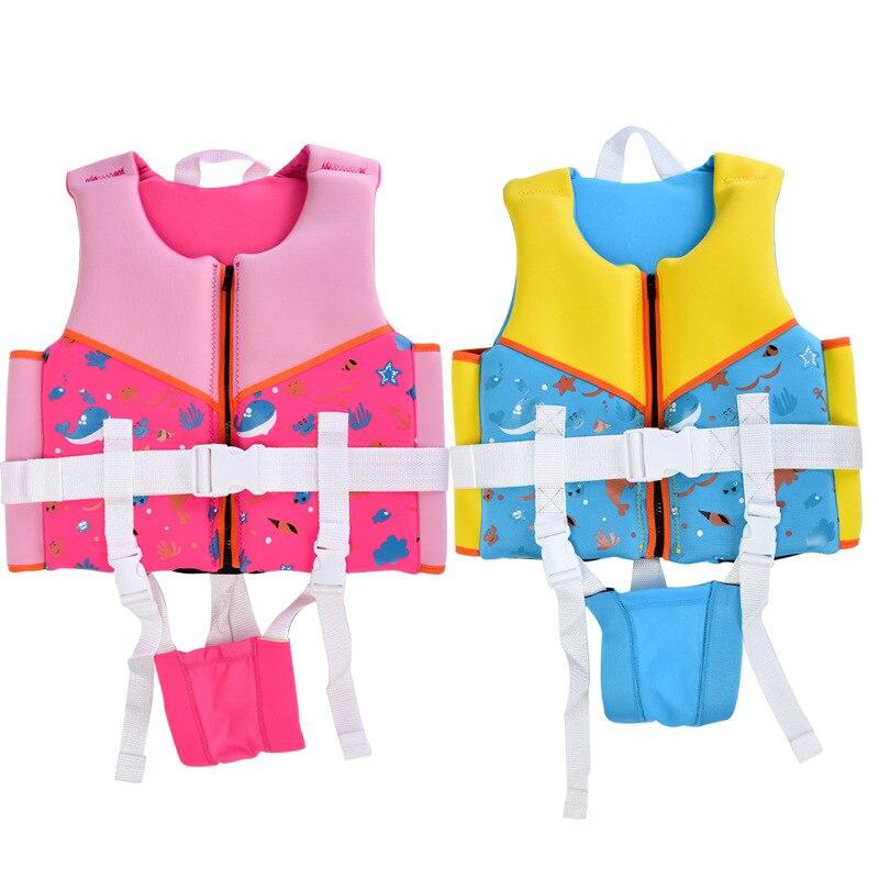 Cross Border Hot Sales-Kids' Waistcoat Fu Li Yi Drifting Non-Professional Form Lifejacket Manufacturers Direct Selling
