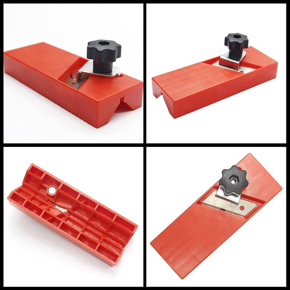 Gypsum Board Hand Plane Plasterboard Planing Tool Flat Square Drywall Chamfer Tool Woodworking Side M5K5