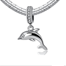 Strollgirl new 100% 925 Sterling Silver Animal Dolphin Beads Suitable for Pandora Bracelet Pendant charms Jewellery Making Gifts