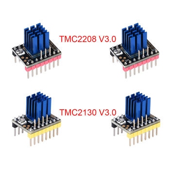 TMC2208 V3 0 UART TMC2130 V3 0 SPI sterownik silnika krokowego dla SKR V1 3 MINI E3 rampy 1 4 1 6 3D drukarki pokładzie części drukarki 3D tanie i dobre opinie BIQU TMC2208 V3 0 TMC2130 V3 0 SPI TMC2208 V1 0 TMC2130 V1 1 Stepper Motor Driver Stepper Motor 3D Printer Part New 100