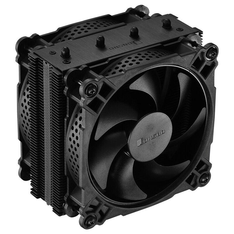 Hot-jonsbo Cr-301 6 caloduc basse pression Rgb lumière Cpu radiateur double 12Cm silencieux ventilateurs Pwm Intelligent contrôle de température Cpu
