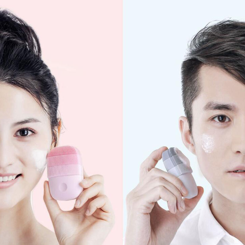 Image 5 - InFace Xiaomi Sonic Electric Facial Cleansing Brush Mijia Smart Waterproof Silicone Massage Wash Face Care Cleaner Rechargeable-in Powered Facial Cleansing Devices from Home Appliances