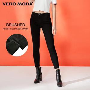 Image 5 - Vero Moda Womens Slim Fit Wrap Stretch Denim Pants Crop  Jeans