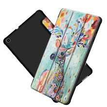 Case for Samsung Galaxy Tab A 8 0 2019 Tablet PU Leather Cover for Samsung Tablet tab A 8 0 T290 Case cheap XINYITONG Protective Shell Skin for samsung galaxy tab a 8 0 T290 Print Fashion Shockproof Drop resistance Anti-Dust Soft