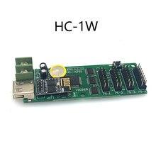 HC-1W wifi sem fio lintel rgb controle da tela de cor completa led cartão vem com 4 hub75