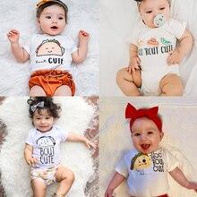 Body à manches courtes pour bébés garçons et filles, Taco 'Bout mignon, combinaison d'été pour nourrissons et tout-petits