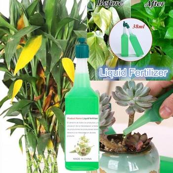 1pc Hydroponic Plant Nutrient Solution Fertilizer Rich Seed Potted Foliar Concentrated Flower Green Fertilizer Fertilizer B A0T5 image