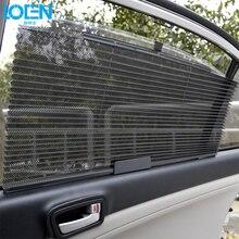 1 шт. 60*46 см автомобильный солнцезащитный козырек шторы выдвижное покрытие с УФ-защитой Защита от солнца черный для лобового стекла автомобиля боковые окна