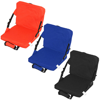 1pcs Outdoor Camping Hiking Sports Accessaries Garden Patio Cushion Chair Beach Foldable Seat Pad with Backrest - discount item  25% OFF Camping & Hiking