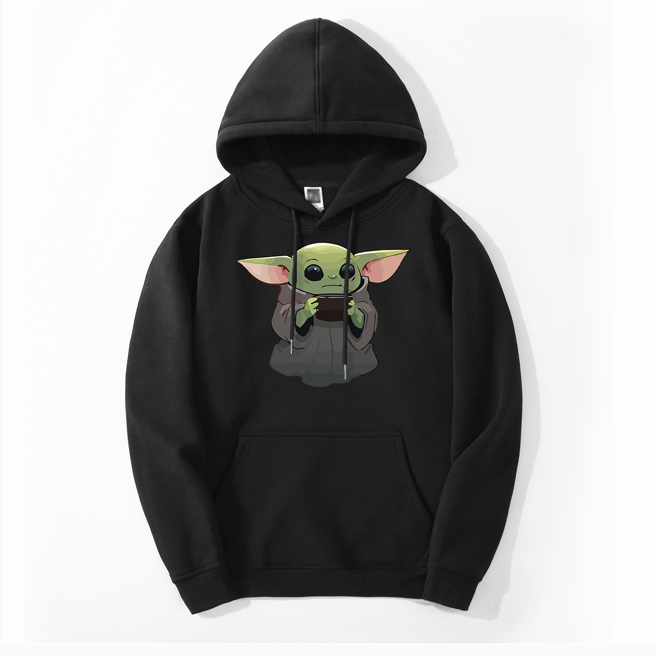 The Child Mandalorian Baby Yoda Men's Hoodies Spring Autumn Hoodies Sweatshirts Men Fleece Tops Bebe Yoda Hoodies Sweatshirt