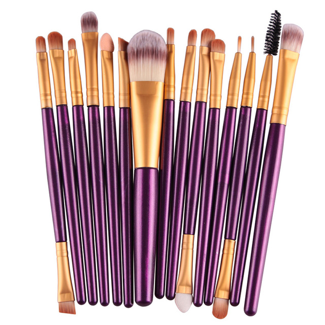MAANGE 18/15/7Pcs Makeup Brushes Set Eyeshadow Brush Eyebrow Eyeliner Powder Blush Foundation Brush Pincel Maquiagem Beauty Tool