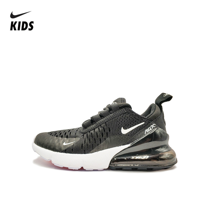NIKE AIR MAX 270 Kids Running Shoes Children Shoes Comfortable Sports Outdoor Mesh Sneakers 2019 New Original Authentic