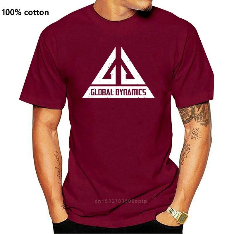 Camiseta logotipo da dinâmica global gd-jack carter serie tv eureka