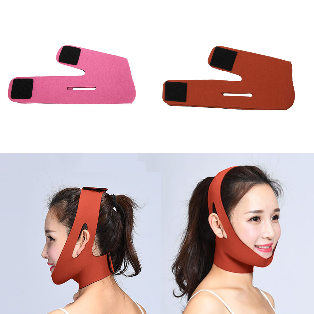 Face Slimming Lifting Face Mask Tightening Face Lifting The Cheek Muscle Bandage Face Care V-Shaped Belt