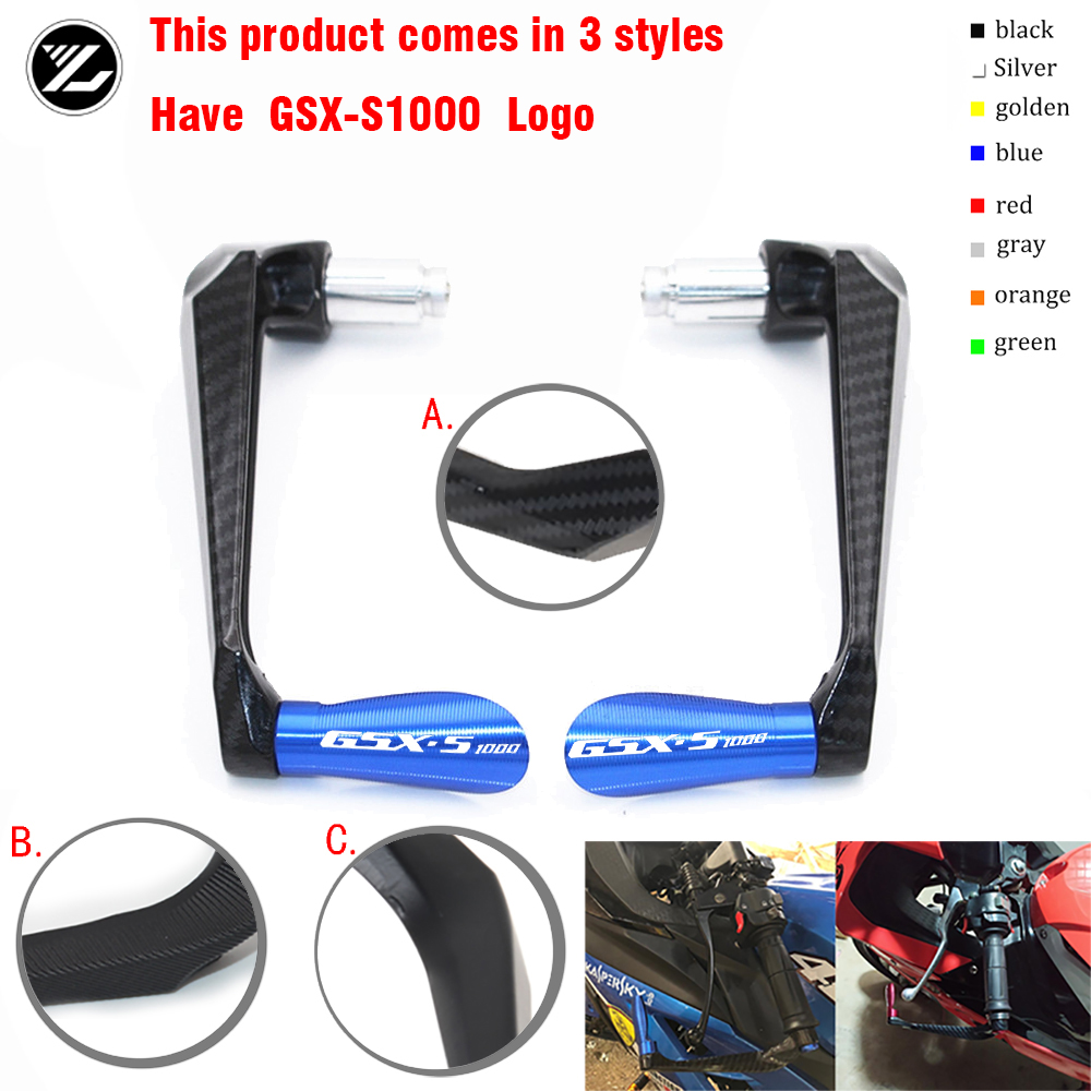 Motocycle Handlebar Handle grips Bar Ends Brake Clutch Levers Guard Protector For Suzuki GSX-S GSXS 1000 GSXS1000 2016 2017 2018 image