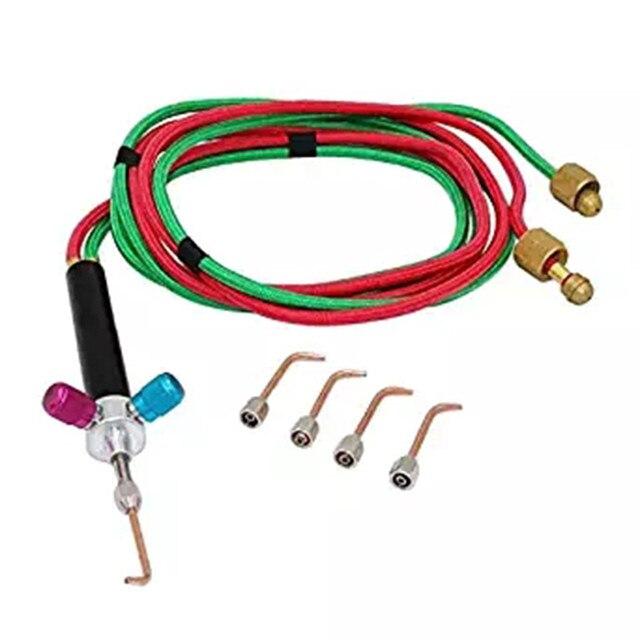 XHUENG N/ützlich Qualit/äts-Mini-Schmuck-Gas-Schwei/ßen Micro Torch Jewelers Schwei/ßen L/öten W 5 D/üsen