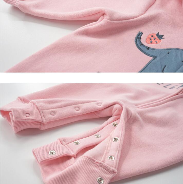 H45257d6209104b0b9ba75e1d133e1720L 2019 spring Baby rompers Newborn Cotton tracksuit Clothing Baby Long Sleeve hoodies Infant Boys Girls jumpsuit baby clothes boy
