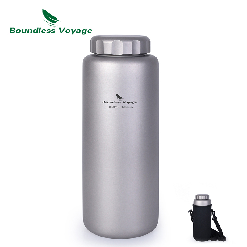 Sports-Water-Bottle Canteen Boundless Voyage Titanium Camping Drinkware Cycling Hiking
