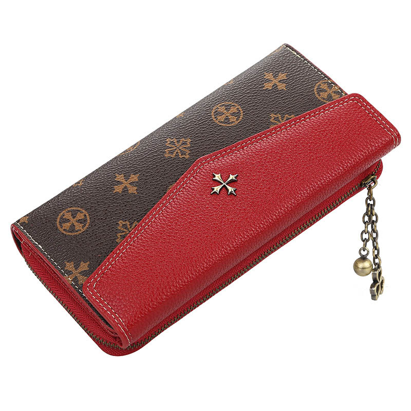 2019 Long Women Wallets Sequined Top Quality PU Female Wallets Card Holder Fashion Female Purse Zipper Brand Wallet For Girl