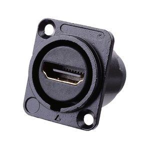 Image 3 - HDMI Loại D Ổ Cắm Mạng Cắm Khung Xe Bảng Điều Khiển Gắn Kết Nối Âm Thanh Kim Loại HD Hàng Không Dây Cáp