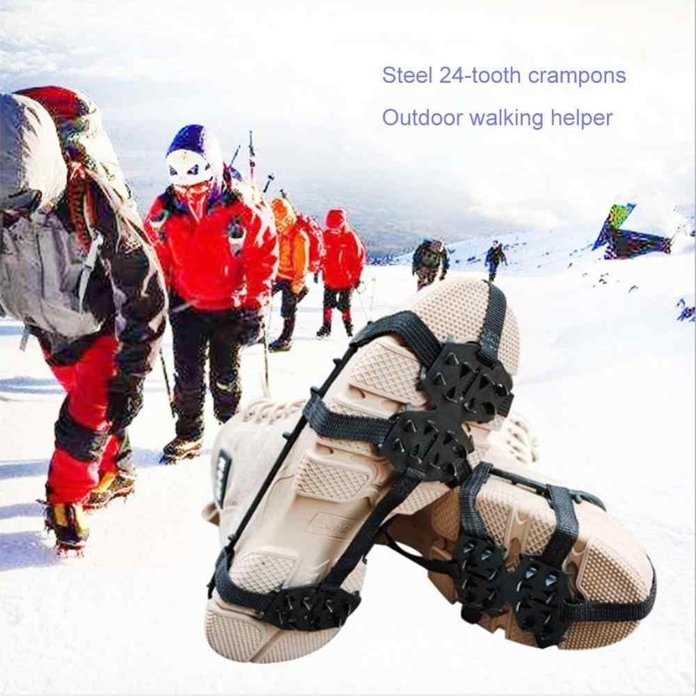 Crampones Para Exteriores Picos De Zapatos Escalada Caminar Sobre Nieve Adecuado Para Caminatas Sobre Hielo Y Nieve Crampones Para Nieve Cubrezapatos Antideslizantes Cubrezapatos Antideslizantes
