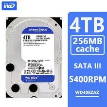 Wd azul 4 tb hdd disco rígido hd sata iii 256mb cache 5400 rpm 4 tb 3.5