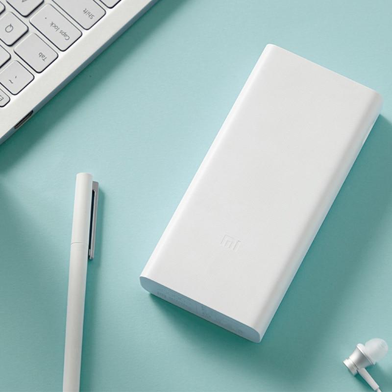 Xiaomi power bank 20000 mah 3 plm18zm 18w usb c 2-way Quick charging portable mi powerbank 20000 battery externa power bank 3 (Mi 3 20000mAh)