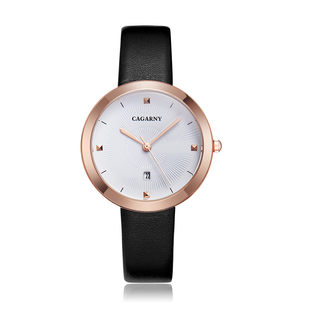 simple style ladies watches hot fashion women quartz watch female clock vogue leather strap rose gold case waterproof relogio feminino часы женские reloj mujer montre homme (9)