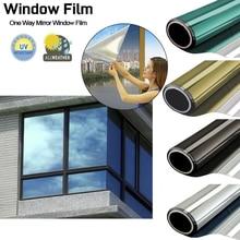 Window Film Sticker Decorative Film Silver Anti Looking Mirror Stickers Vinyl Foil 40/50/60cm Toning Tint Film for Living Room