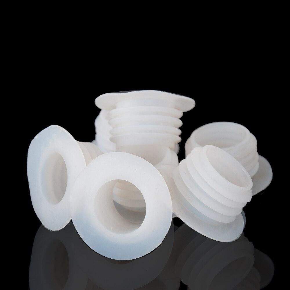 3PCS Set White Hookah Grommet Shisha Hose Bowl Rubber Spacer Seal Water Narguile
