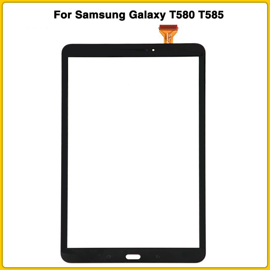 New T585 Touchscreen For Samsung Galaxy Tab A 10.1 SM-T580 SM-T585 T580 Touch Screen Panel Digitizer Sensor LCD Front Glass
