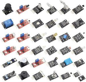 Image 5 - 37 ב 1 חיישן ערכת עבור arduino חיישני מודולים Starter סט UNO R3 MEGA2560 עבור פטל Pi 4
