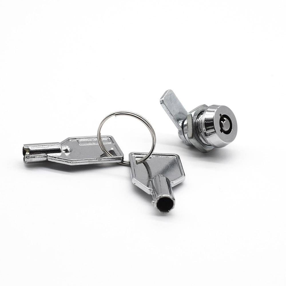 Security Furniture Locks Cam Cylinder Locks Door Cabinet Mailbox Drawer Cupboard Locker With Keys Hardware