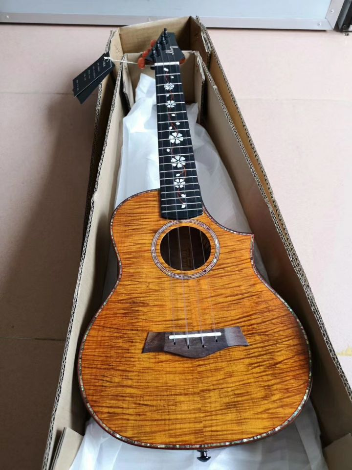 23 inch / 26 inch American tiger grain maple ukulele full single