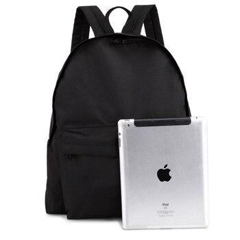 waterproof bags Cute Women's Backpacks Girl Lady Travel Bag Oxford men and women pure black color