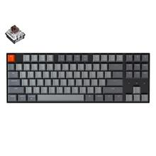 Keychron K8 G Wireless Bluetooth Mechanical Keyboard Gateron Hot swappable Switch White Backlight Keyboard for Mac