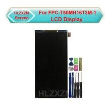 Para FPC-T50MH16T3M-1 display lcd nenhuma substituição do sensor do digitador da tela de toque com ferramentas