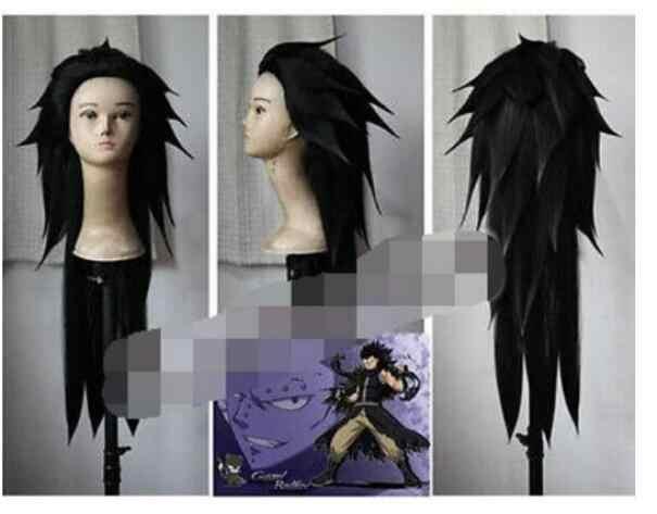 Venda quente + + + +>>> fairy tail-gajeel reitfox cosplay anime peruca completa de volta aos detalhes do produto