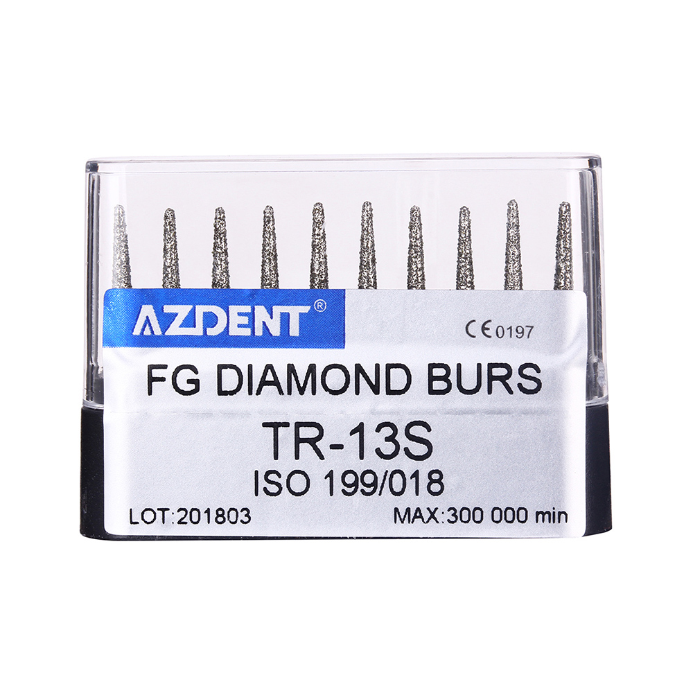 Dental  High Speed Diamond Burs Drills Dental Diamond Burs Drills Handpieces Medium Dentist Tools For Teeth Whitening Polishing