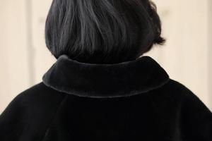 Image 5 - SHAMAI Đen Lông Thú Giả Mùa Đông Cô Dâu Bọc Ấm Ngà Lông Boleros Cô Dâu Đô Tối Áo Cưới Áo Khoác ĐầM Dự TiệC Bọc