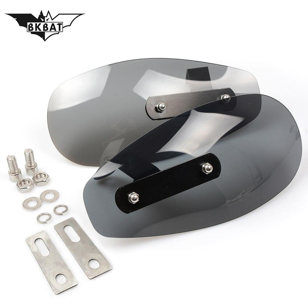 Protection de pare-brise de garde de main de garde de moto pour yamaha yzf 250 bmw f800gs suzuki intruder 1400 mv agusta yamaha mt 10