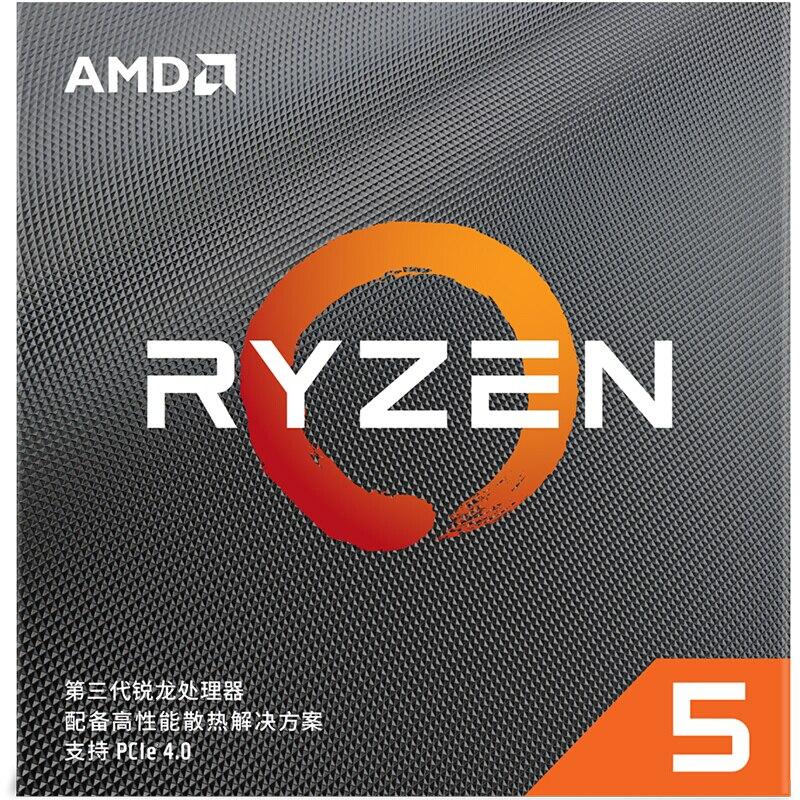 AMD Ryzen 5 3600 R5 3600 3.6 GHz Six-Core Twelve-Thread CPU Processor 7NM 65W L3=32M 100-000000031 Socket AM4 brand new with fan 3