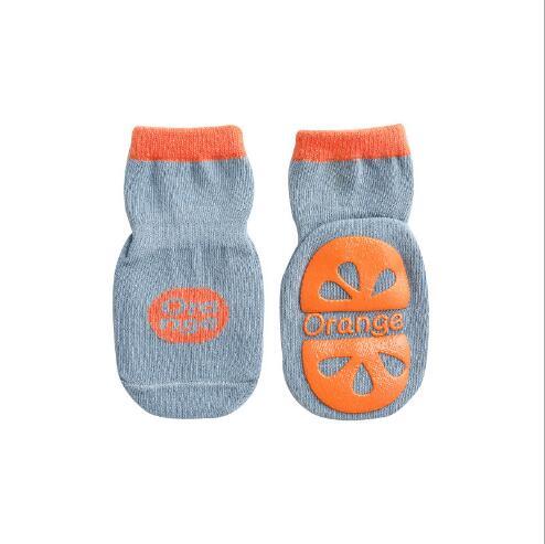 3pairs 0-5YearAutumn new children's tube socks dispensing non-slip baby floor socks learning socks for kids boy and girl 5