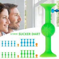Juego de dardos con ventosa para interiores y exteriores, accesorios de juego de mesa para aliviar el estrés
