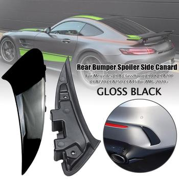 Car Rear Bumper Spoiler Side Canard For Mercedes CLA Class Sport C118 CLA 200 CLA 220 CLA250 CLA45 for AMG 2020 Styling Moulding image