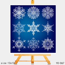 AZSG snowflake Clear Stamps For DIY Scrapbooking Rubber Stamp/ Seal Paper Craft Stamp Card Making