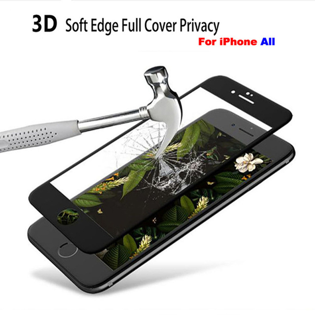 9D Full Cover Protective Glass for iPhone 7 8 Plus 6 6S SE 2020 Screen Protector On iPhone 11 12 Pro Max Mini X XS XR Glass 5